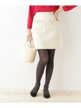 【SSサイズあり】リボン台形ミニスカート