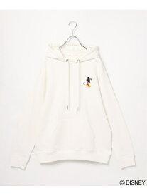【SALE/50%OFF】ikka Disneyスウェットプルパーカー イッカ カットソー スウェット ホワイト ブラック