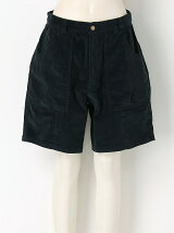 Stretch Sulfide Dyed Corduroy Shorts