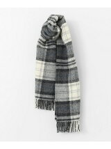 TWEED MILL check stole