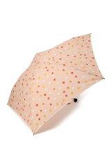 EJ70 カラフルドット柄軽量折りたたみ傘(雨傘)