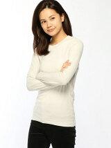(L)クルーネック長袖Tシャツ