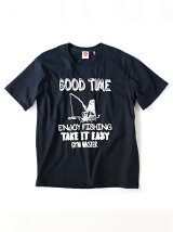 gym master/(U)GOOD TIME Tee_navy