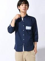 PK配色7分袖シャツ