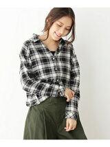 ヘリンボーンスキッパーシャツ+タンクトップSET