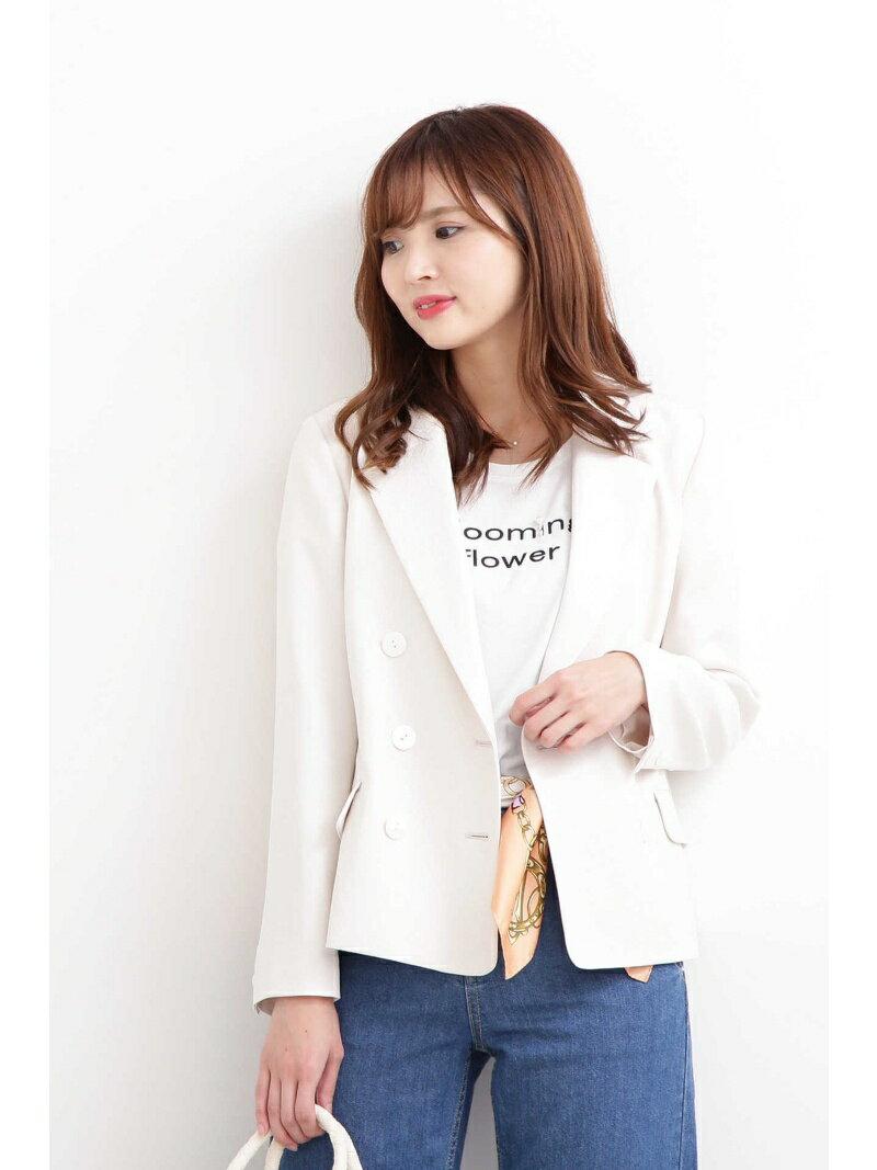 PROPORTION BODY DRESSING ◆リネンライクジャケット プロポーションボディドレッシング コート/ジャケット【送料無料】