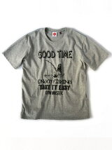 gym master/(U)GOOD TIME Tee_gray