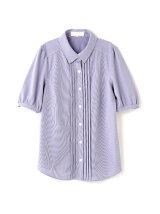 ◆大きいサイズ◆ハイゲージシャツブラウス