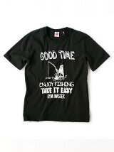 gym master/(U)GOOD TIME Tee_black