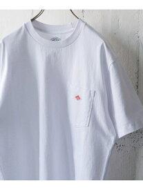 DOORS DANTON クルーネック半袖ポケットTシャツ アーバンリサーチドアーズ カットソー Tシャツ ホワイト グレー ネイビー【送料無料】