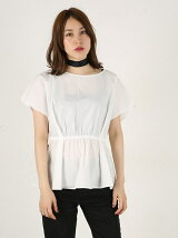 FRONT RIBBON 2WAY TOPS F