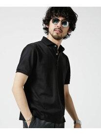 【SALE/10%OFF】nano・universe Anti Soaked POLOシャツ ナノユニバース カットソー【RBA_S】【RBA_E】【送料無料】