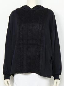 【SALE/50%OFF】RODEO CROWNS WIDE BOWL ケーブル ドッキング フード ロング Tシャツ ロデオクラウンズワイドボウル カットソー カットソーその他 ネイビー ホワイト レッド グレー
