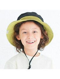 BREEZE アウトドアハット_UVカット エフオーオンラインストア 帽子/ヘア小物 帽子その他 ブラック ブラウン ピンク ブルー