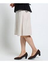 ウールピケフレアスカート