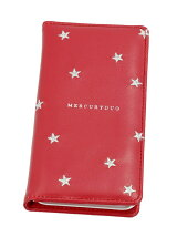 MERCURYDUO/STAR EMBROIDERY RED