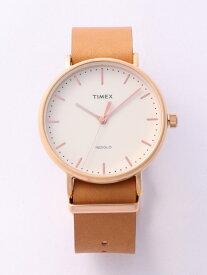 【SALE/20%OFF】TIMEX TIMEX/(M)フェアフィールド 41mm ライフスタイルステーション ファッショングッズ 腕時計 ベージュ【送料無料】