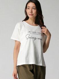 【SALE/30%OFF】ロゴプリントTシャツ サマンサモスモス カットソー【RBA_S】【RBA_E】