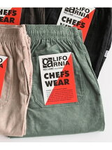 CALIFORNIA CHEF PANTS CORDS