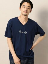 BY PEACHY Vネック Tシャツ