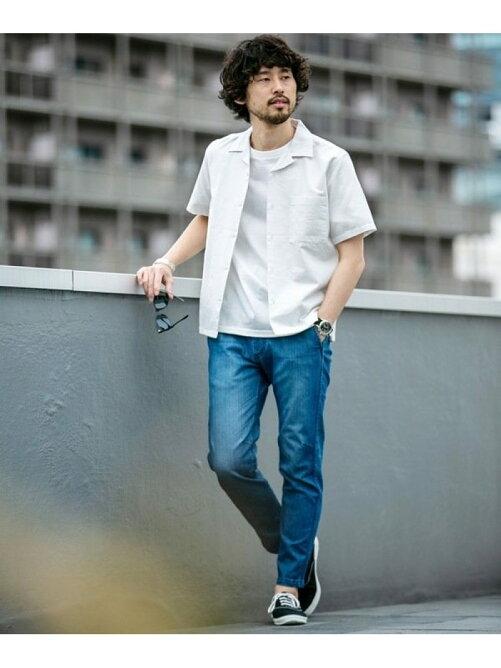 清潔感のある夏の服装 爽やかな男性のカジュアルデニムコーデ♡