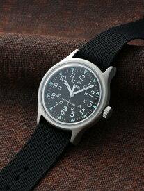 TIMEX TIMEX/(U)SSキャンパー (アクリル) ライフスタイルステーション ファッショングッズ 腕時計 ブラック【送料無料】