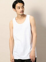 <ALSTYLE APPAREL&ACTIVEWEAR> CUT/OFF WIDE T/TOP/タンクトップ