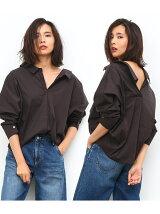 【2WAY】プレーンシャツ