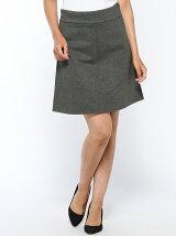 (W)カットミディスカート