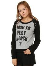 PLAY A ROCKプルオーバー