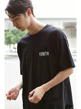 YOUTHロゴクルーネックTEE