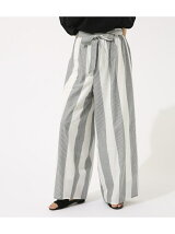 《WEB限定サマーセール》BIG STRIPE PANTS