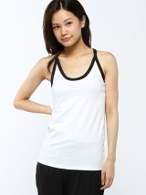 (W)PARALLEL TANK(WHITE*BLACK)