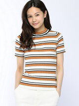 MULTI BORDER KNIT PU