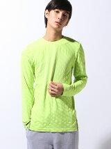 (M)トレーニングシームレス長袖シャツ