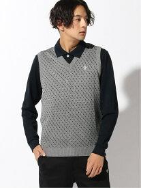 Munsingwear (M)ベスト マンシングウェア ニット ノースリーブニット/ベスト グレー ネイビー ブラック【送料無料】