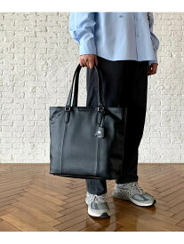 【SALE/10%OFF】TAKEO KIKUCHI ブラック&ブラウン モノトーントートバッグ タケオキクチ バッグ トートバッグ ブラック ブラウン【送料無料】