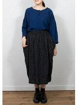 nestRobe スノーフレークプリントスカート