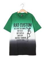 ロゴ・グラデーション半袖Tシャツ