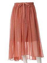 《SUPERIOR CLOSET》シースルーフィッシュテールスカート