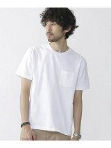 ポケット付きBig C/N Tシャツ