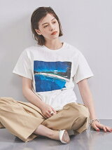 <HIROSHINAGAI(ヒロシナガイ)>ALONGVACATIONTシャツ