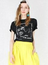 ダンス漢字MIXプリントTシャツ
