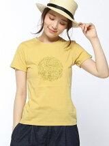 (W)[レディース] ボタニカルプリントTシャツ