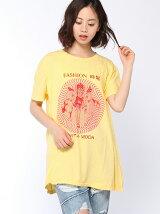 スクリーム漢字MIXプリントTシャツ