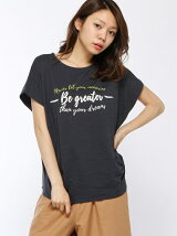 BE GREATER-ロゴTシャツ