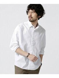nano・universe 大人のワイドシャツレギュラーカラー ナノユニバース シャツ/ブラウス【送料無料】