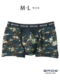 BROS BROS ボクサーパンツ (前閉じ 吸汗速乾 ムレ軽減設 ブロス インナー/ナイトウェア ボクサーパンツ/トランクス グリーン グレー ブルー レッド