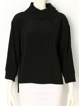 PLEATS RIB TOP