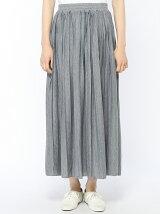 カットプリーツスカート